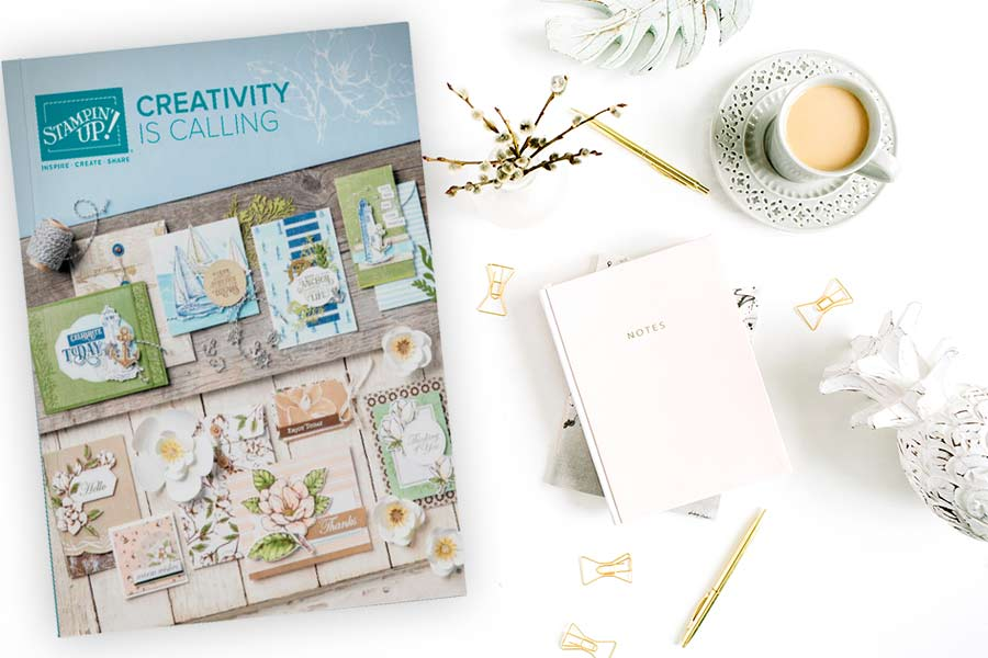 Download the 2019-20 Stampin' Up! Catalogue