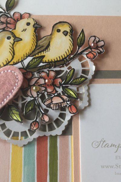 stampin up designer series paper