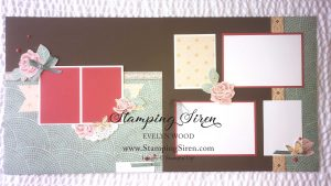 Modern Mosaic Scrapbooking Pages
