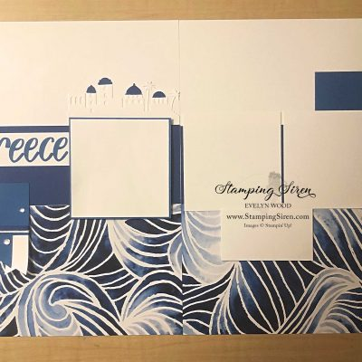 Greece Scrapbooking Pages