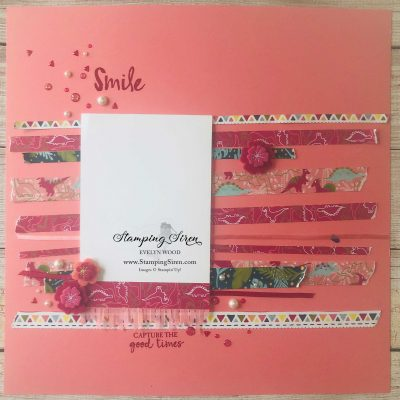 Stampin Up Scrapbook Pages & Queen Concert